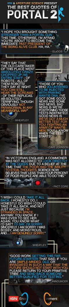 Portal 2's Best Quotes - IGN