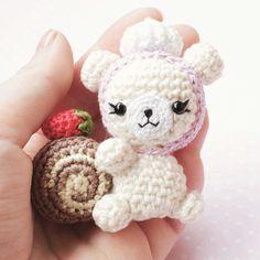 Новый сладкоежка  #amigurumi #crochetdoll #sweetlolita  #sweet #cute…