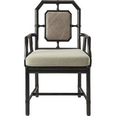 Buy Harlan Side Chair by McGuire Furniture – Made-to-Order designer Furniture from Dering Hall's collection of Chinoiserie Transitional Dining Chairs.