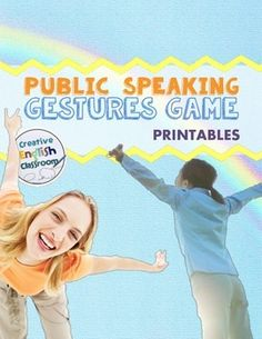 If your students are frozen in fear, try this fun public speaking game to get them up and moving!