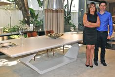 Jóia Bergamo e Victor Angueira - os produtos assinados pelo designer foram escolhidos especialmente pela arquiteta para a Casa Cor 2014