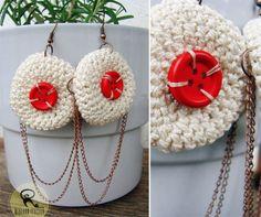 Crochet Earrings, Shopping, Jewelry, Fashion, Moda, Jewlery, Jewerly, Fashion Styles, Schmuck