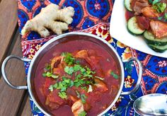 Slow cooker butter chicken (and vegan option!) :: The Fitnessista