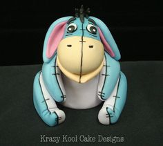 Eeyore Cake Topper by KrazyKoolCakeDesigns on Etsy, $80.00