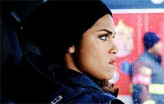 Don't ever make Gabby Dawson give you a death stare.