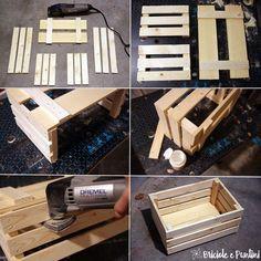 tutorial cassetta in legno fai da te