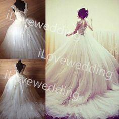 Casamento real vestido De Casamento vestido De baile mulheres V Neck apliques 2016 Vestidos De Noiva Vestidos De Vestidos De Noiva em Vestidos de noiva de Casamentos e Eventos no AliExpress.com | Alibaba Group