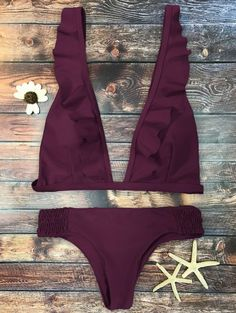 GET $50 NOW | Join Zaful: Get YOUR $50 NOW!http://m.zaful.com/ruffles-plunge-bathing-suit-p_269209.html?seid=1n08hvs6uove5p3n5ssvat6855zf269209