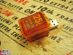 Pinball Coin-Slot USB