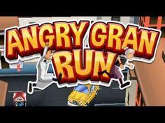 Angry Gran Run Gameplay Walkthrough IOS Android 2017