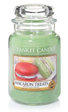 Macarons gourmands - Bougie grande jarre - Yankee Candle