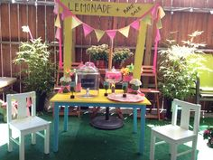 The McManus Girls' DIY lemonade stand!