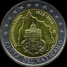 Vaticano 2€-2004