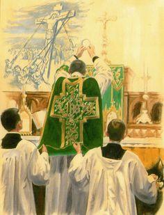 Elevação da Hóstia Santa Missa de Sempre - Imagens - Associação Santo Atanásio