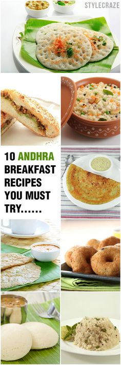 Are you fond of Andhra cuisine? Do you want to prepare them? This post talks about 10 Andhra breakfast recipes that are easy yet appetizing. These dishes will be a treat
