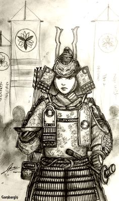 A (pretty poor) concept drawing of a Japanese Woman Warrior or Onna Bugeisha (short of like a female samurai) as part of the Historically Wrong Sketch S. Minamori no Takeko of Hibangana Bakufu (Japanese) Knight Drawing, Knight Art, Character Art, Character Design, Character Ideas, Female Samurai, Samurai Artwork, Macabre Art, Martial Artists