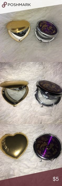 (2) compact mirrors Will sell individually too! One Godiva mirror and one unknown brand godiva Accessories