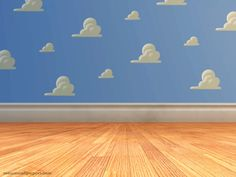 Have a kid, and wallpaper their room with Toy Story wallpaper!!