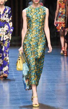 Dolce & Gabbana Spring Summer 2016 Look 41 on Moda Operandi