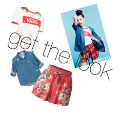"""""""Untitled #74"""" by rachy1008 ❤ liked on Polyvore featuring Vans, Sans Souci and LE3NO"""