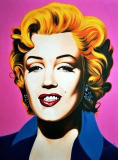 Marilyn Monroe by Hector-Monroy