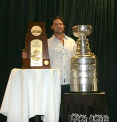 "The last Badger to get his name on the Stanley Cup was Adam Burish just two years ago with the Chicago Blackhawks. Today's ""Photo of the Day"" is from his visit to Madison and the Kohl Center to share it with the fans."