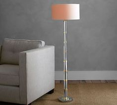 Zaira Floor Lamp #potterybarn