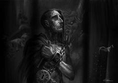 Abomination, Darkest Dungeon by mantisslash