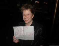 It's the guy from Fall Out Boy aka Patrick Stump Fall Out Boy, Bae, Save Rock And Roll, Soul Punk, Patrick Stump, Patrick Martin, Young Blood, Pete Wentz, This Is A Book
