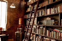 bookshelves at glitterguide