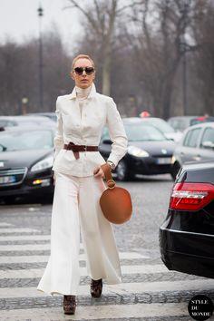 Elina Halimi Street Style Street Fashion Streetsnaps by STYLEDUMONDE Street Style Fashion Photography