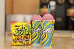 Prepare Your Tongues: 7-Eleven Is Selling A Sour Patch Watermelon Slurpee Starting July 1 - http://www.77evenbusiness.com/prepare-your-tongues-7-eleven-is-selling-a-sour-patch-watermelon-slurpee-starting-july-1-2/