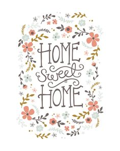 Home Sweet Home Limited Edition Art Print by Kristen Smith | Minted