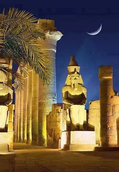 Statue of Rameses II, Luxor Temple