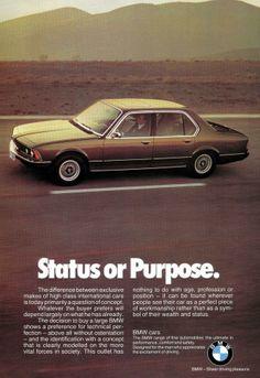Status or Purpose