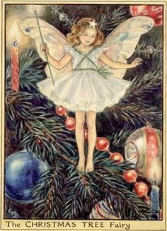 TheChristmasTreeFairy Cicely Mary Barker