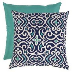 Damask Square Toss Pillow Collection