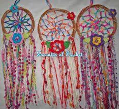 Resultado de imagen para atrapasueños en crochet