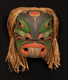 coastal tribal mask