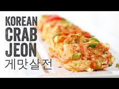 Korean Crab Jeon (Crab Stick Omelettes : 게맛살전) | Chef Julie Yoon