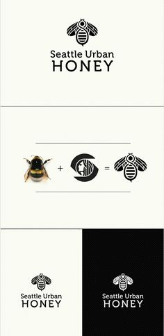 by Detail Vision, smart way to combine bee + urban = icon