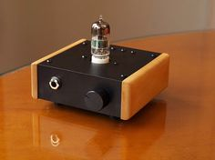 Small DIY headphone amp.