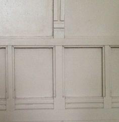Voorbeeld paneeltjes slaapkamerdeur
