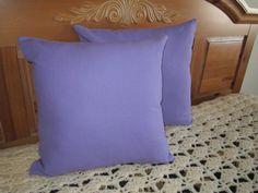 Linen Pillow Covers  Linen Cushion Covers  Lavender by vertzvkv, $24.00