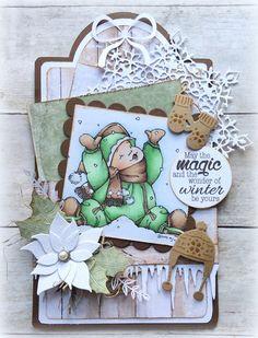 Made by Jolanda: The magic of winter
