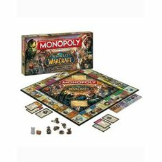 Amazon.com: Monopoly: World of Warcraft Collector's Edition: Toys & Games