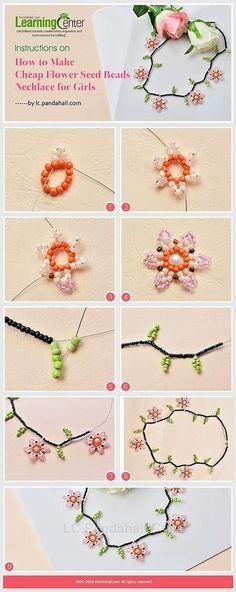 Resultado de imagen de Flower Seed Bead Ring Patterns