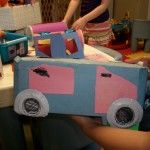 Homemade Barbie Cars from Arts & Crafts with Country Fun