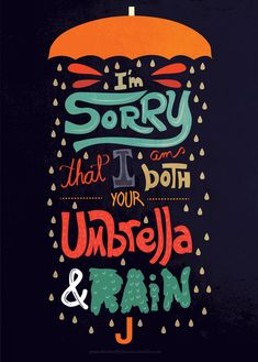 Umbrella And Rain Words Quotes, Wise Words, Art Quotes, Motivational Quotes, Life Quotes, Inspirational Quotes, Drawing Quotes, Story Quotes, Sayings
