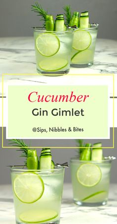 Limoncello gin cocktail with grilled thyme - recipe - FineCookingLimoncello gin cocktail. Fragrant gin cocktail recipes and inspiration for Karen GilbertCucumber Gin Gimlet Blueberry Thyme Gin Fizz - Best Gin Cocktails, Gin Cocktail Recipes, Cocktail Drinks, Alcoholic Drinks, Beverages, Liquor Drinks, Bourbon Drinks, Craft Cocktails, Gin Recipes